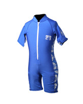 Body Glove 8oz. Lycra Pro 2 Child's Springsuit in Royal / Floral White
