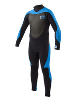 Body Glove 4/3 Siroko Junior Full Wetsuit in Blue - Front