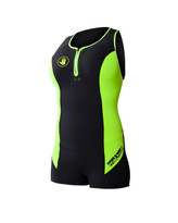 Body Glove Method 2 Racerback Springsuit in Lime - Front
