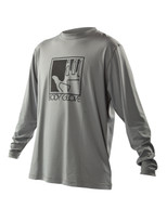 2014 Body Glove L/A Loose Fit Mens Rashguard in Grey color - Front