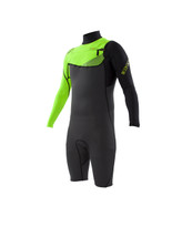 Body Glove Prime Slant 2mm L/A Men's Springsuit in Lime - Front