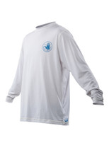 2014 Body Glove 53 Loosefit L/A Boardshirt in White - Front