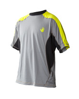 Body Glove Performance S/A Loosefit Men's Shirt in Viridian/Silver -  Front