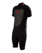Body Glove Method 2.0 Back Zip 2/1 Junior Springsuit in Black