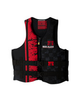 Body Glove Stealth Men's PFD in Black/Red - front