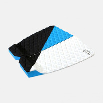 Sticky Bumps Dave Rastovich Traction Pad in Black/Cyan