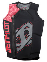 Jet Pilot Helix Comp Vest in Red - front