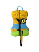 Jet Pilot Firecracker Neo Infant PFD in yellow