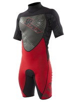 Jetpilot Cause 2mm S/S Spring in red - front