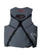 Back detail of Body Glove Vapor X PFD in Grey