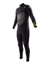Body Glove Voodoo Slant Zip Fullsuit in black