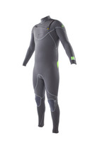 2015 Body Glove Vapor X Slant Men's Fullsuit in gray - front