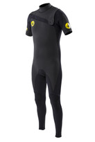 Body Glove Prime Slant Zip 2mm Fullsuit in black