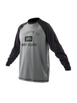 Body Glove Raglan Loosefit Shirt in Black/Charcoal - front