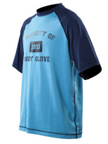 Body Glove Raglan short sleeve in blue - front