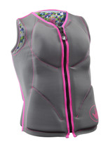 Body Glove Non USCGA Women's Front Zip Vest in grey