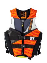Body Glove USCGA Phantom Men's PFD in Black/Orange