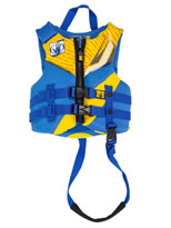 Body Glove USCGA Child Phantom PFD in Blue/Yellow