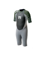 Body Glove Wetsuit - 2/1mm Method 2.0 Child spring in Combat Green/Silver/Drk Grey