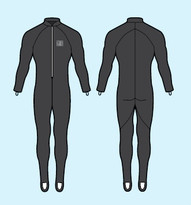 Body Glove Wetsuit - 6 oz Dive Skin Unisex Fullsuit