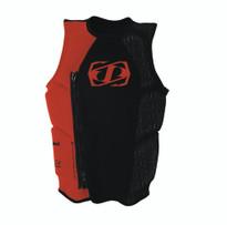 Jetpilot Daniel Super Powers Comp Jacket in red