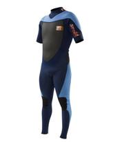 Body Glove Siroko 2mm Back Zip S/A Fullsuit in blue
