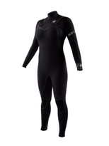 Body Glove Topaz 4/3mm Women's Separated Zip Fullsuit in black