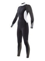 2016 Body Glove Stellar 4/3 Back Zip Women's Fullsuit in Black