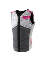 Jetpilot Lady Luck Women's Comp Jacket in pink