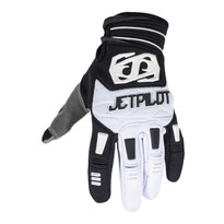 Jetpilot Matrix Full Finger Glove in Black/White