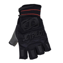 Jetpilot Matrix Short Finger Glove in Black/Red