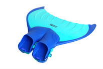 Body Glove Mermaid Linden Kids Mono Fin in blue