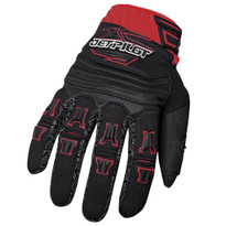Jetpilot Full Finger Glove in red