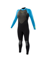 Body Glove Pro 3 Womens Fullsuit in Blue/Black - front