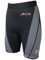 Body Glove Aura Short in Black/Charcoal Color