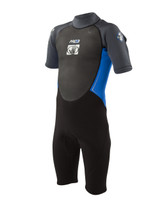Body Glove Pro 3 Junior Springsuit in Deep Cyan / Graphite - Front