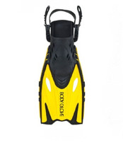Body Glove Junior Reach Fins in Yellow