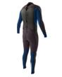 Body Glove Method 2.0 Back Zip 3/2 Men's Fullsuit in Blue/Black - back