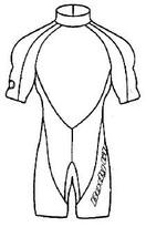 2/1mm Men's Jammer Springsuit