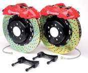 Brembo Gran Turismo Brake System (Front) Drilled - 2004-2009 Mazda3 Mazdaspeed3