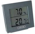 Credo Large Display Digital Hygrometer Thermometer Grey