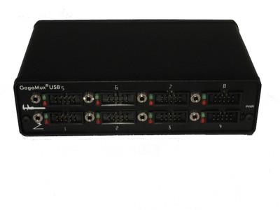 ASDQMS 8-port GageMux USB gage interface