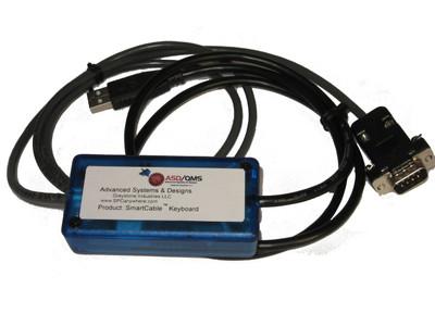 ASDQMS SmartCable USB Keyboard for Edmunds E9000 Accusetter II Column Amplifier