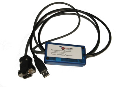 ASDQMS SmartCable USB with Keyboard Output for Beta LaserMike Accuscan 5010