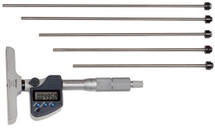 ASDQMS Mitutoyo 329-350-10 329 Series Depth Micrometer with Interchangeable Rods
