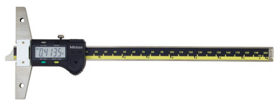 "ASDQMS Mitutoyo 571-212-30 ABSOLUTE Digimatic Depth Gage; 0-8"" Range"