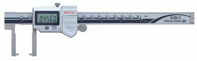 Mitutoyo 573-752-20 Neck Caliper with Point Jaw