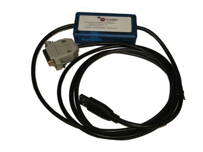 SmartCable™ Keyboard Interface for Omega DFG71 Series Digital Force Gauge