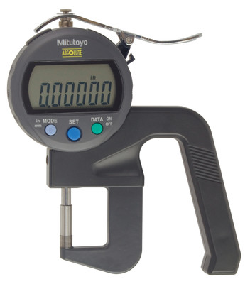 ASDQMS Mitutoyo 547-400S Digimatic Thickness Gage