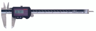 """ASDQMS Mitutoyo 500-787 Super Solar Digimatic 8"""" Caliper"""